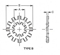 Lock Washer Type B